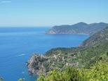 Tra Volastra e Corniglia, panorama. Liguria, Cabiria Magni