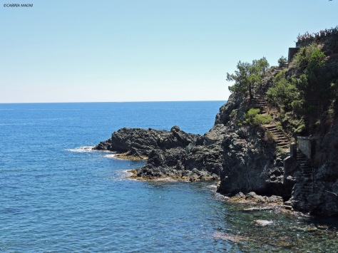 Tra Levanto e Bonassola - Liguria, Cabiria Magni