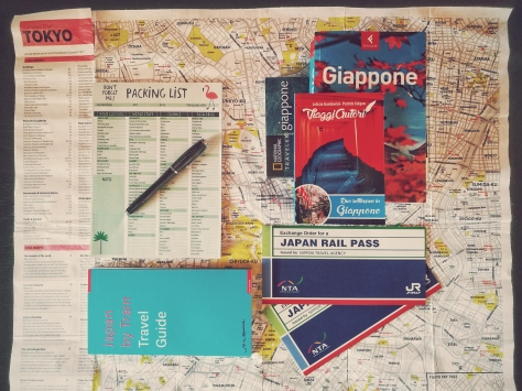Travel to Japan - guide - map - JRP