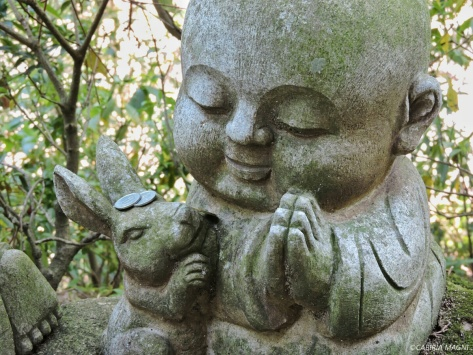 Tempio di Daishoin, Miyajima. Buddha. Cabiria Magni, Giappone