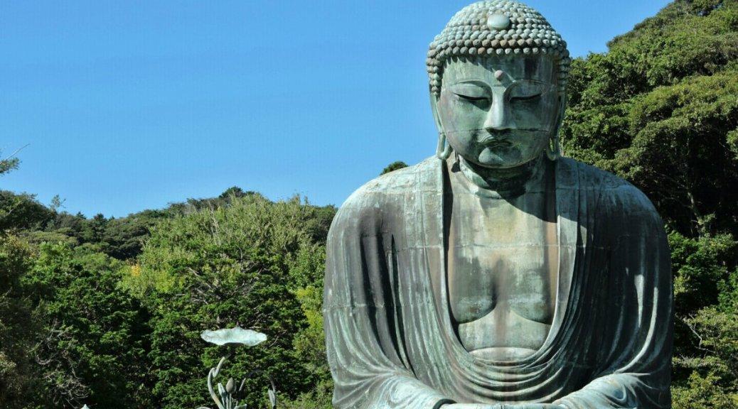 Kotoku-in Kamakura, il Daibutsu. Cabiria Magni, Buddha, Giappone