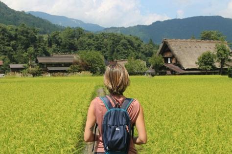 A Shirakawa-go. Foto di Raffaele Angelillo. Giappone