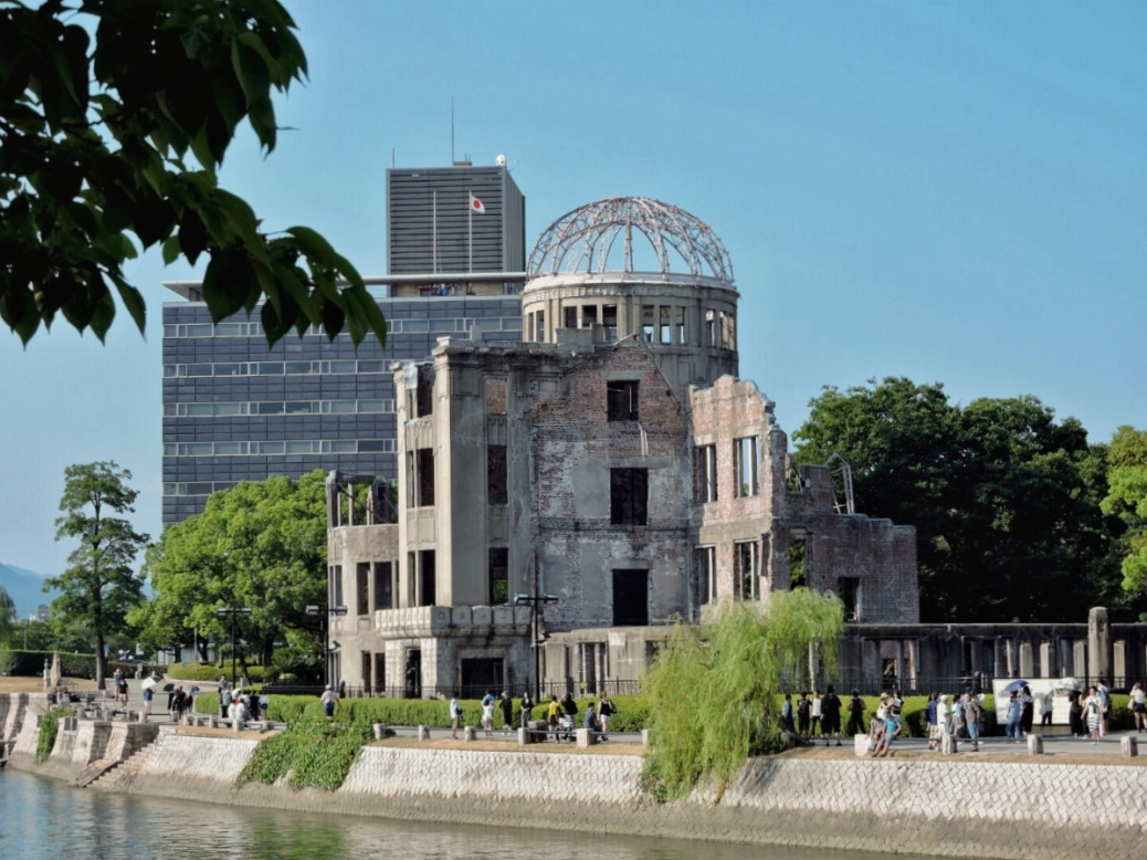 Hiroshima, A-Bomb Dome. Cabiria Magni, Japan