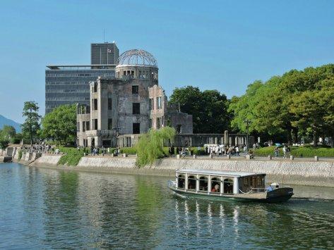 Hiroshima, A-Bomb dome, Cabiria Magni, Giappone