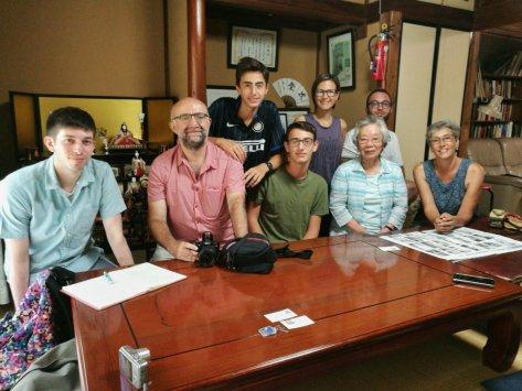 Incontri al World Friendship Center di Hiroshima. Cabiria Magni, Giappone