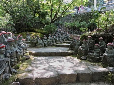 I 500 Rakan, Daisho-in temple, Miyajima, Cabiria Magni