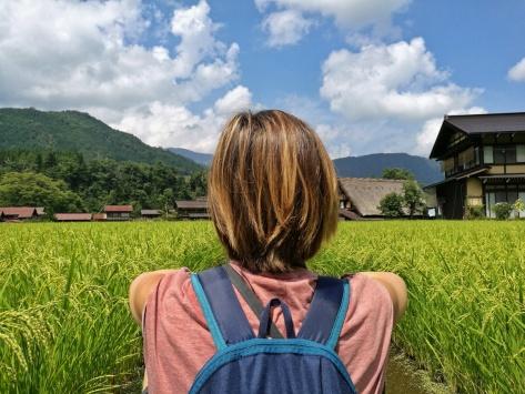 A Shirakawa-Go, Giappone, Cabiria Magni
