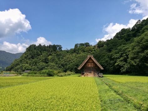 gassho zukuri Shirakawa Go, Giappone, Cabiria Magni