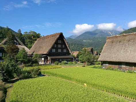 Shirakawa-Go Giappone Cabiria Magni