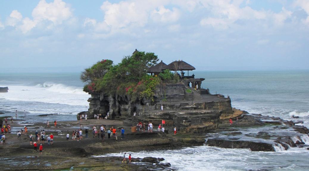 Tanah Lot temple, Bali. Cabiria Magni