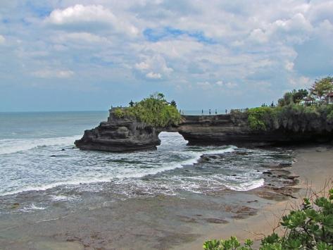 Bali, nei pressi del Tanah Lot. Cabiria Magni
