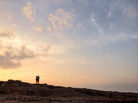 Tramonto a Polignano a Mare. Puglia Cabiria Magni