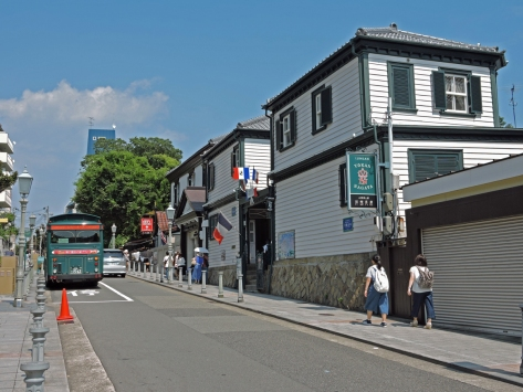 Le case di Kitano, Kobe, Giappone, Cabiria Magni