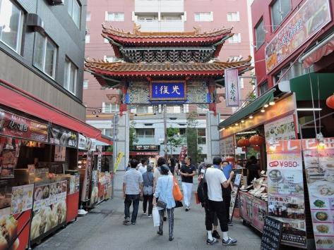 Chinatown, Kobe, Giappone, Cabiria Magni