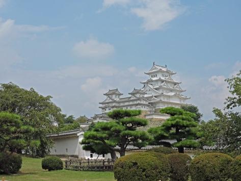 Castello di Himeji, Giappone, Cabiria Magni