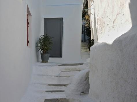 Vicoli di Anafiotika, Atene, Cabiria Magni