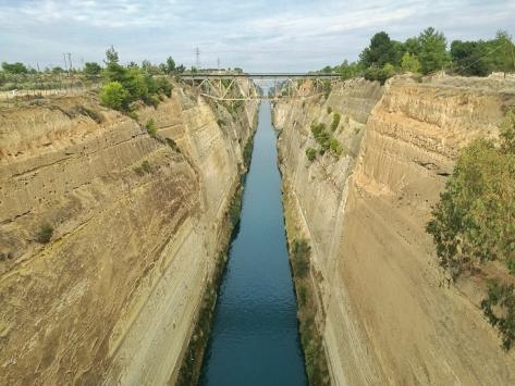 Canale di Corinto, Cabiria Magni