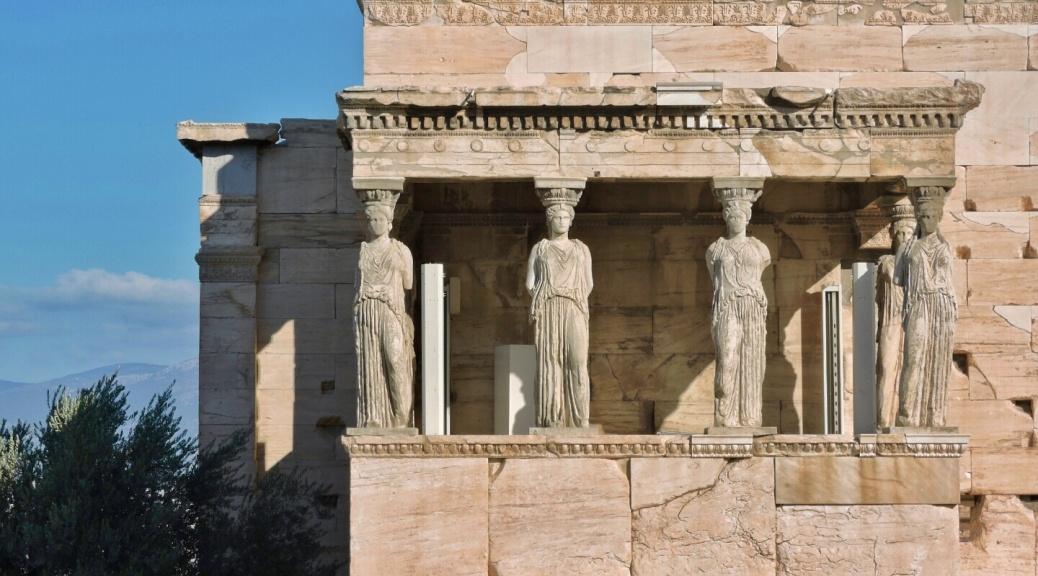 Eretteo, Acropoli di Atene, Cabiria Magni