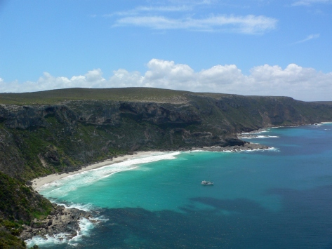 Kangaroo Island, vista sulla costa . Australia, Cabiria Magni