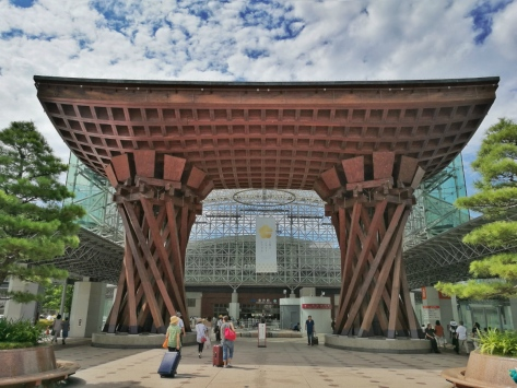 La stazione di Kanazawa