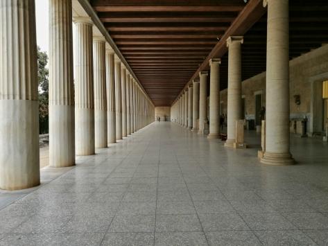 Stoa di Attalo, Cabiria Magni, Atene