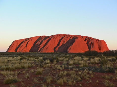 Uluru poco prima del tramonto. Australia, Cabiria Magni