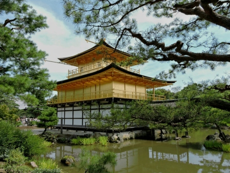 Kinkaku-ji, il Padiglione dorato. Cabiria Magni, Giappone