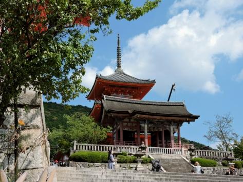 Kiyomizu-dera, parte del complesso. Cabiria Magni, Giappone