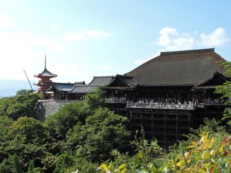 Kiyomizu-dera, la terrazza su Kyoto. Cabiria Magni, Giappone