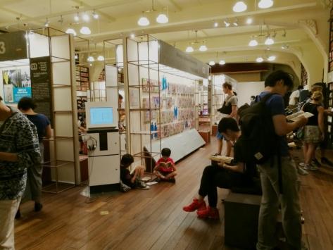 Museo del manga, Kyoto. Cabiria Magni, Giappone