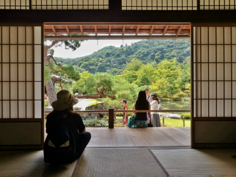 Tenryu-ji, Kyoto. Cabiria Magni, Giappone