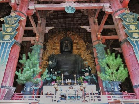 Il buddha del Todai-ji, Nara. Cabiria Magni, Giappone