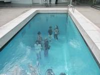 Installazione al museo d'arte contemporanea, Kanazawa. Giappone, Cabiria Magni