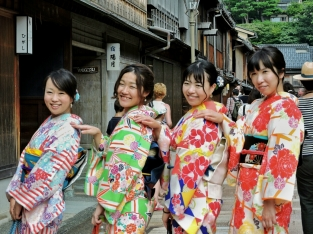 Higashi Chaya, Kanazawa. Giappone, Cabiria Magni