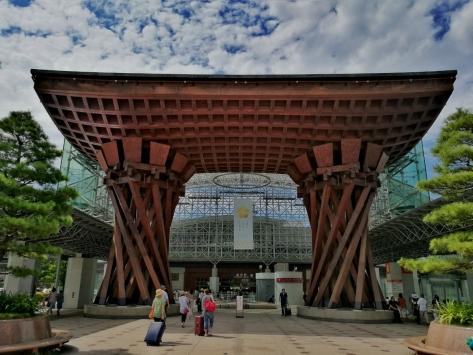 Stazione di Kanazawa - Giappone, Cabiria Magni