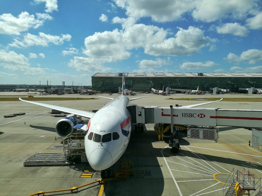 Aeroporto Londra Heathrow Cabiria Magni