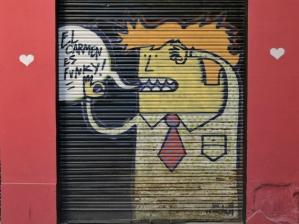 Barrio del Carmen, murales, Valencia, Cabiria Magni