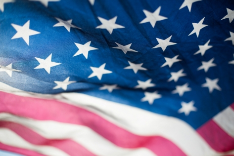 USA flag by lucassankey