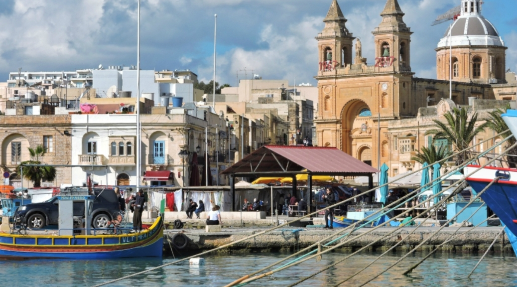 Marsaxlokk, Malta, Cabiria Magni