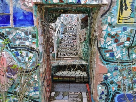Magic Gardens, Philadelphia, Cabiria Magni, USA