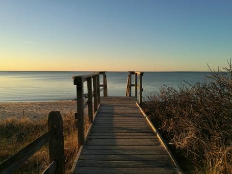 Tramonto a Brewster, Cape Cod, Cabiria Magni, Massachussets