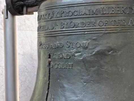 Liberty Bell, Philadelphia. Cabiria Magni