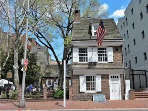 La casa di Betsy Ross, Philadelphia. Cabiria Magni