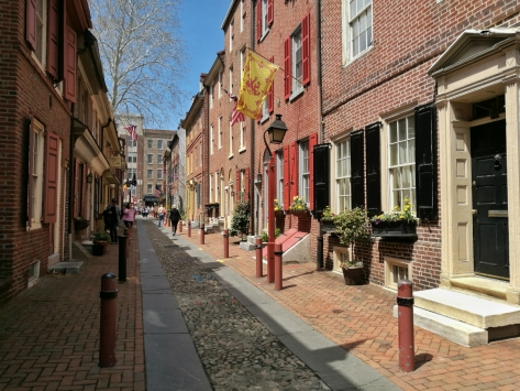 Elfreth's Alley, Philadelphia. Cabiria Magni