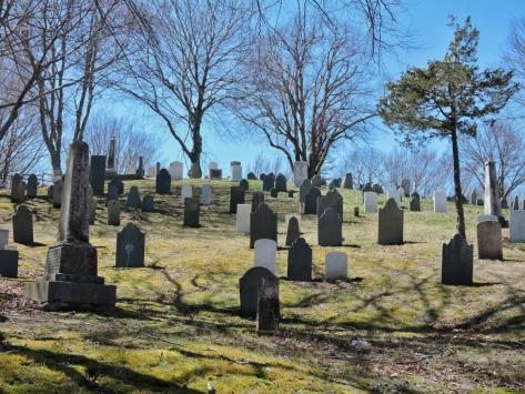 Plymouth, il cimitero sulla collina. USA, Cabiria Magni