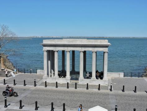Plymouth, il punto di attracco della Mayflower. USA, Cabiria Magni