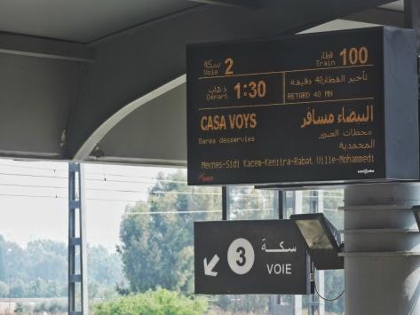 Stazione di Fez, Cabiria Magni