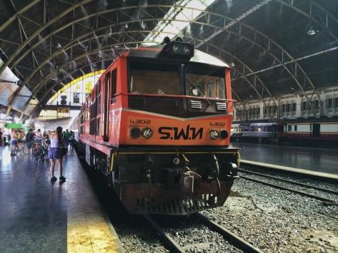 Bangkok, stazione di Hua Lumphong, Cabiria Magni